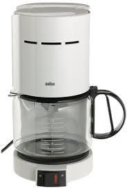 Braun KF400 WH Aromaster 10 Cup Coffeemaker White