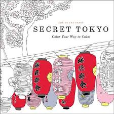 Review Secret Tokyo Adult Coloring Book By Zoe De La Cases