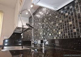 Black Galaxy Backsplash Ideas White Cabinet