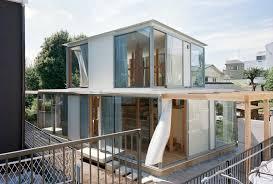 100 Japanese Small House Design Double Circular Rings In Todoroki Teppei Fujiwara
