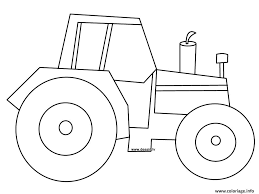 Coloriage Tracteur 2 JeColoriecom