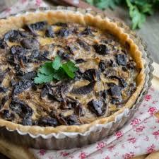 cuisiner les bolets recette tarte chignons et huile d olive à la truffe blanche