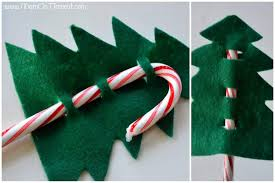 Candy Cane Christmas Trees Step 3