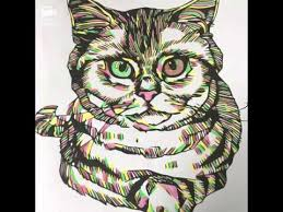 Lets Color Colorama Cats And Kittens Page 1