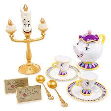 Amazon Disney Beauty and the Beast Singing Tea Set Toys & Games