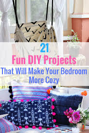 21 Fun DIY Projects That Will Make Your Bedroom More Cozy Easy Diy Room
