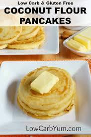 Bisquick Pumpkin Pancakes No Eggs by Low Carb Coconut Flour Pancakes Gluten Free Low Carb Yum
