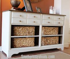 Crazy Dressers At Walmart by Vintage Dresser Turned Pottery Barn Style Storage A Dresser