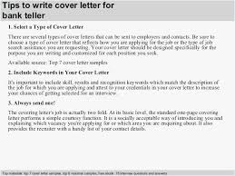 Entry Level Bank Teller Resume Example Cover Letter Examples