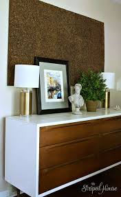 This Credenza Makeover Turned Scandinavian Midcentury Modern Bedroom Dresser Into A Contemporary Dining Room Sideboard