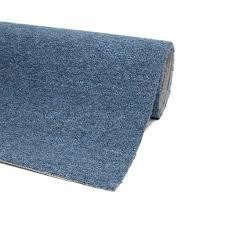 teppichboden auslegware blau 200 x 400 cm meterware bodenbelag teppich