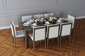 de chicomo lucca esszimmer set 8 stühle esstisch