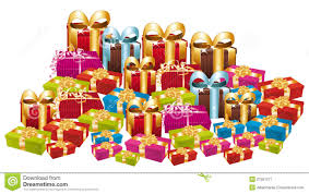 Gift clipart pile 12
