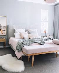 Our Blush Button Cushion In The Home Of Designdevotee Styling And Photography By Oheightohnine Grey Bedroom DecorModern Room