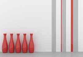 wand streichen ideen für muster farben streifen