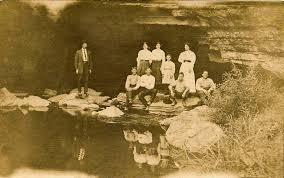 picnic at sinks of gandy c 1908 west virginia explorer
