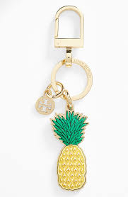 tory burch pineapple keychain nordstrom