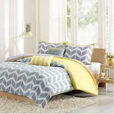 Walmart Bedding Sets Twin by Bedroom Attractive Yellow And Gray Chevron Bed Comforter Set