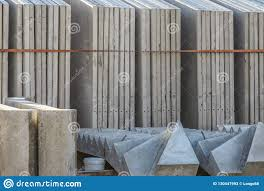 100 Concret Walls Precast E In Rack Stock Image Image Of Panel