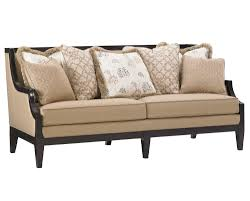 World Market Khaki Luxe Sofa by Kensington Place Coco Reef Sofa By Lexington Home Gallery Stores