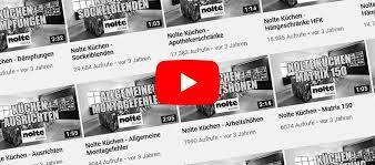nolte küchen montagevideos und aufbauhilfen