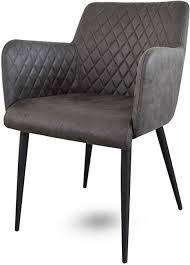 damiware stuhl design wohnzimmerstuhl esszimmerstuhle bürostuhl mit leder optik stoffbezug