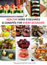 canapes for healthy hors d oeuvres canapés up formula