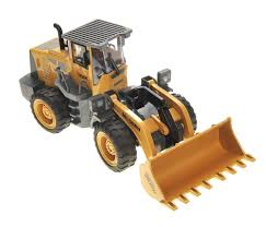 100 Truck Loader 10 1 Bulldozer RC Construction Electric 6CH Lights