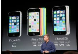 iPhone 5C vs 5S price in USA UK off contract