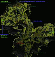 dungeon siege 3 map image iliarthvalleymap jpg dungeon siege wiki fandom powered