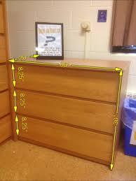 Sorelle Verona Dresser Dimensions by Dorm Dresser Bestdressers 2017