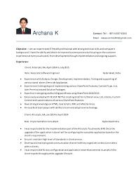 Sample Computer Programmer Resume Entry Level