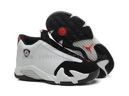Cute Girls Air Jordan 14 Retro Gs Toe Wholesale Black Varsity Red White Nike Basketball