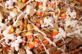 Pumpkin Spice Chex Mix With Candy Corn by Autumn Chex Snack Mix The Classy Cookies