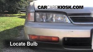 1996 honda accord turn signal headlight and tailight replacement