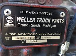 2007 Allison 3000 RDS (Stock #4355) | Transmission Assys | TPI Allison Ht740rs Stock Tr2940 Transmission Assys Tpi Monroe Truck Equipment Adds Equity Partner Trailerbody Builders At545 For Sale Vanderhaagscom Weller Holding Group Competitors Revenue And Employees Owler Michigan Parts Well Weller Truck Parts Pages Directory Md3060p Tr2946 Inventory Page Headley Safety Codinator Linkedin Milwaukee Reman Missing Allegan County Man Found Dead Was Favorite Son Untitled