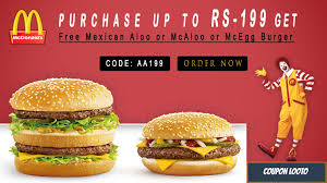 Get Free Mexican Aloo Or McAloo Or McEgg Burger On Purchase ... Mcdonalds Card Reload Northern Tool Coupons Printable 2018 On Freecharge Sony Vaio Coupon Codes F Mcdonalds Uae Deals Offers October 2019 Dubaisaverscom Offers Coupons Buy 1 Get Burger Free Oct Mcdelivery Code Malaysia Slim Jim Im Lovin It Malaysia Mcchicken For Only Rm1 Their Promotion Unlimited Delivery Facebook Monopoly Printable Hot 50 Off Promo Its Back Free Breakfast Or Regular Menu Sandwich When You