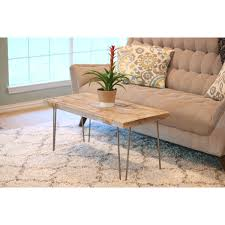 Industrial 40 X 18 Coffee Table Chestnut Facelift Pinterest