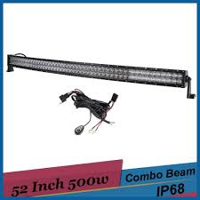 500w 5D Curved LED Light Bar 52 Inch Off Road Como Driving Light ... 75 36w Led Light Bar For Cars Truck Lights Marine High Quality 4 Led Car Emergency Beacon Hazard 50inch Straight Led Light Bar Mounting Brackets Question Jeep Cherokee Forum Inchs 18w Cree Light Bar Work Spot Lamp Offroad Boat Ute Car Double Side 108w Beacon Warning Strobe 6 Smd Work Reversing Red 15 11 Stop Turn Tail 3rd Brake Cheap Rooftop Better Than Stock Lights Toyota Fj 18 108w Cree 3w36 8600lm Off Road Atv