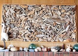 Driftwood Wall Art Large Drift Wood Home Design Ideas Living Room Decor