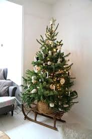 Small Christmas Trees This Is A Great Way To Showcase Smaller Tree Tiny