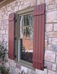 CozyCottageCute MustMakeShutters Outdoor Window ShuttersExterior Wood ShuttersHouse