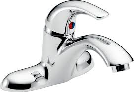 Delta Windemere Bathroom Faucet by Bathroom Faucet Com Tp Dst In Chrome By Delta Faucets Singular