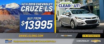 Chevy Dealer In Colorado Springs Daniels Long Chevrolet