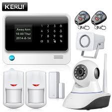 wifi alarme maison sans fil gsm de sécurité à domicile système d