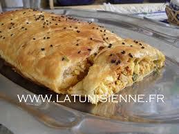 cuisine tunisienn feuilleté à la tunisienne