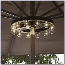 9 ft solar lighted patio umbrella patios home decorating ideas