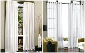 Sheer Curtain Panels With Grommets by Grommet Sheers Window Treatments Caress Voile Sheer Curtain Panel
