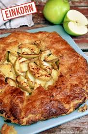 Hearty And Rustic Einkorn Apple Tart Recipe Video