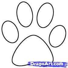 Draw A Paw Print Step 4